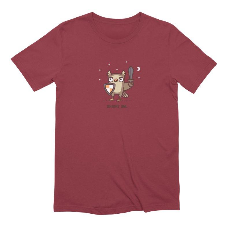 Knight owl Men's Extra Soft T-Shirt by Randyotter