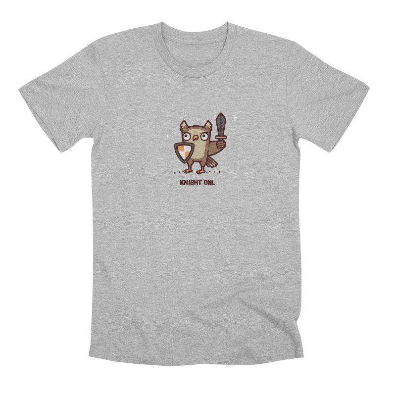 Knight owl Men's Premium T-Shirt by Randyotter