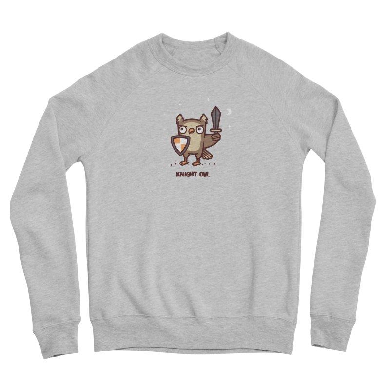 Knight owl Men's Sponge Fleece Sweatshirt by Randyotter
