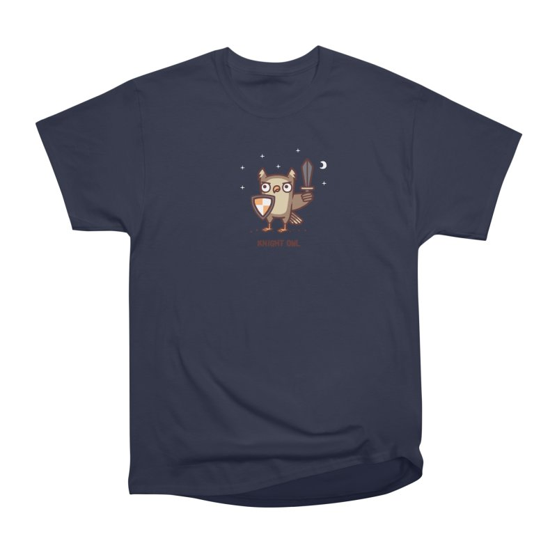 Knight owl Men's Heavyweight T-Shirt by Randyotter