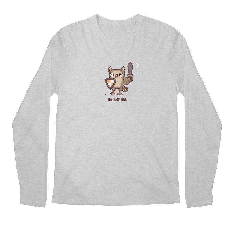 Knight owl Men's Regular Longsleeve T-Shirt by Randyotter