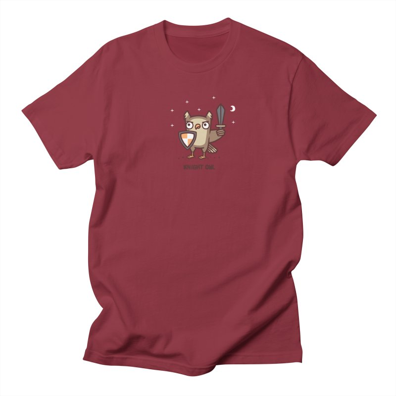 Knight owl Women's Regular Unisex T-Shirt by Randyotter