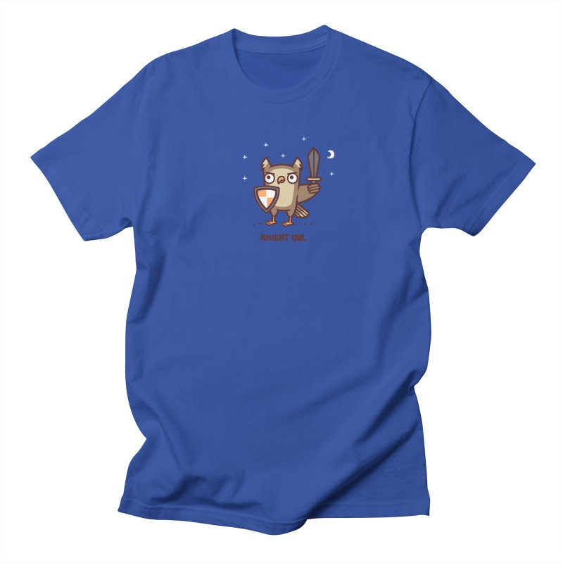 Knight owl Men's Regular T-Shirt by Randyotter