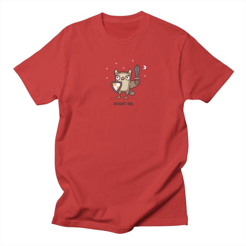 Knight owl Men's Regular T-Shirt by Randyotter