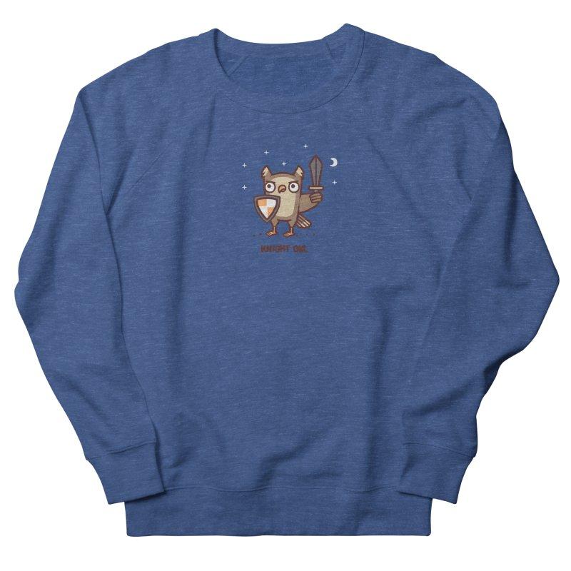 Knight owl Men's Sweatshirt by Randyotter