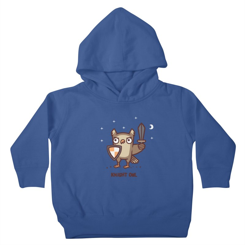 Knight owl Kids Toddler Pullover Hoody by Randyotter