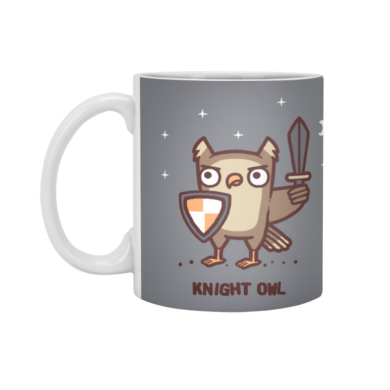Knight owl Accessories Mug by Randyotter