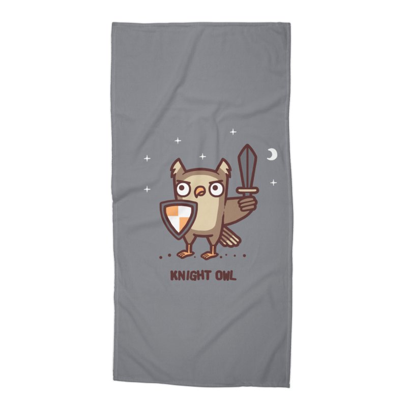 Knight owl Accessories Beach Towel by Randyotter