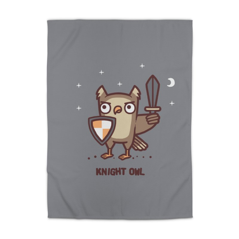 Knight owl Home Rug by Randyotter