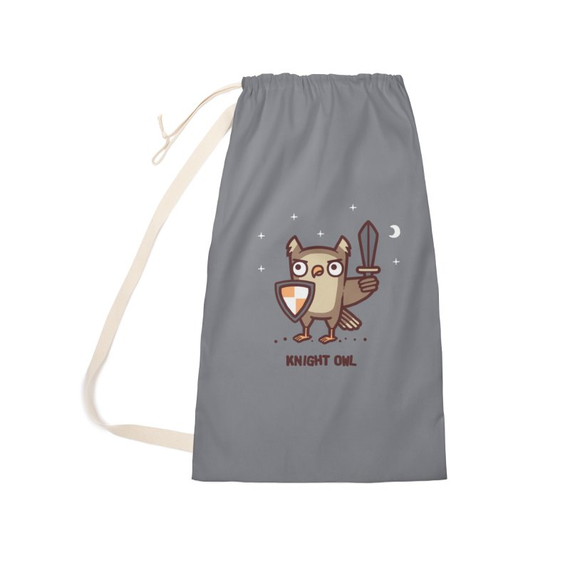 Knight owl Accessories Laundry Bag Bag by Randyotter