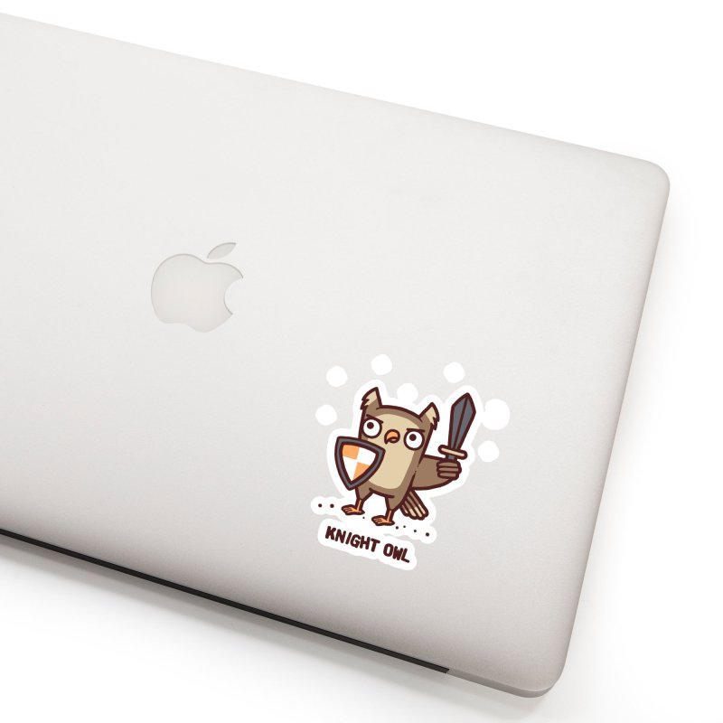 Knight owl Accessories Sticker by Randyotter