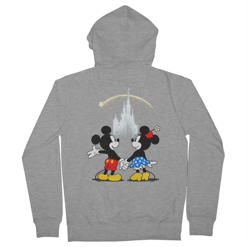 Making Wishes Come True Men's French Terry Zip-Up Hoody by Randy van der Vlag's Shop