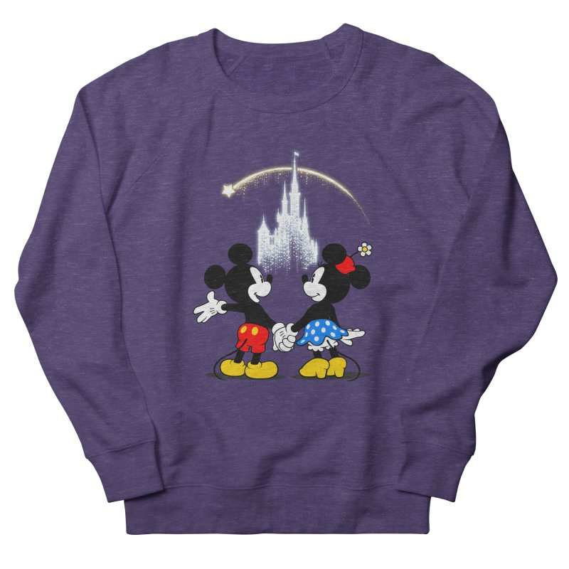 Making Wishes Come True Men's French Terry Sweatshirt by Randy van der Vlag's Shop