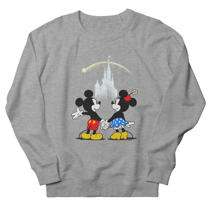 Making Wishes Come True Men's French Terry Sweatshirt by Randy van der Vlag's Shop