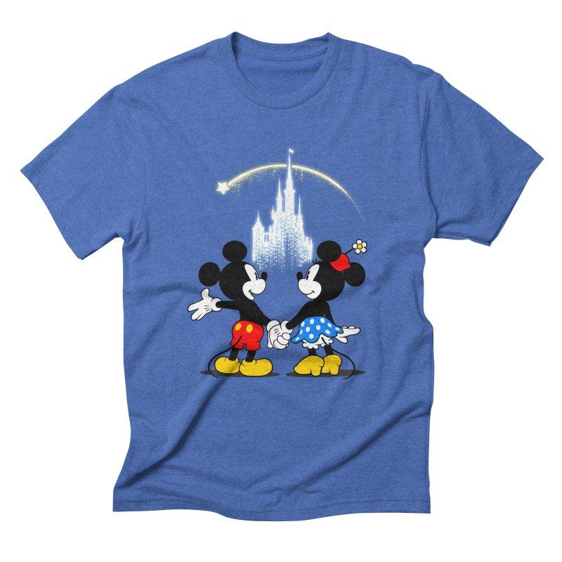 Making Wishes Come True Men's Triblend T-Shirt by Randy van der Vlag's Shop