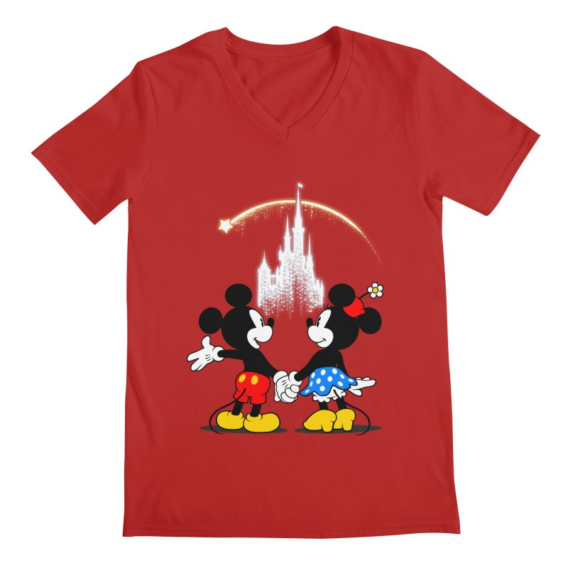 Making Wishes Come True Men's V-Neck by Randy van der Vlag's Shop