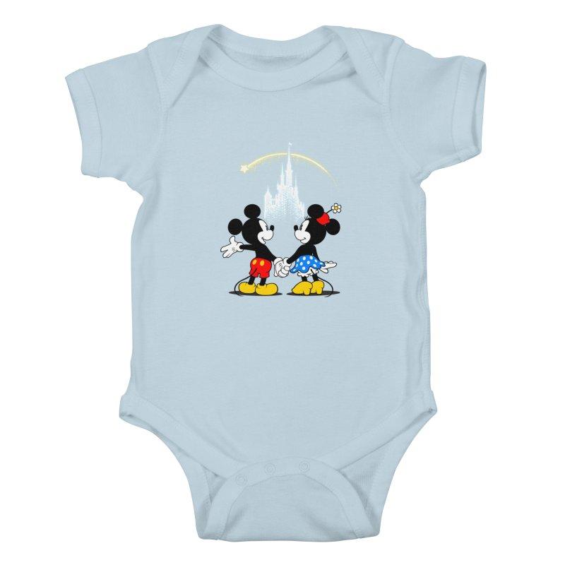 Making Wishes Come True Kids Baby Bodysuit by Randy van der Vlag's Shop