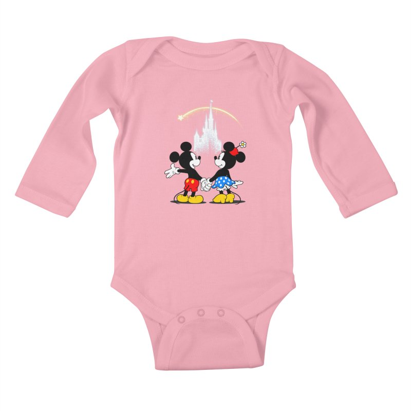 Making Wishes Come True Kids Baby Longsleeve Bodysuit by Randy van der Vlag's Shop