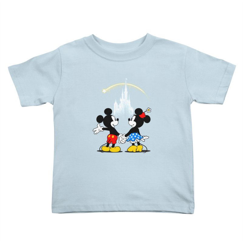 Making Wishes Come True Kids Toddler T-Shirt by Randy van der Vlag's Shop
