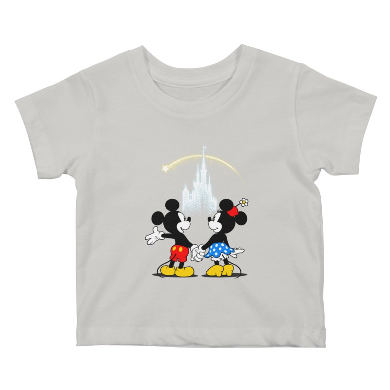 Making Wishes Come True Kids Baby T-Shirt by Randy van der Vlag's Shop