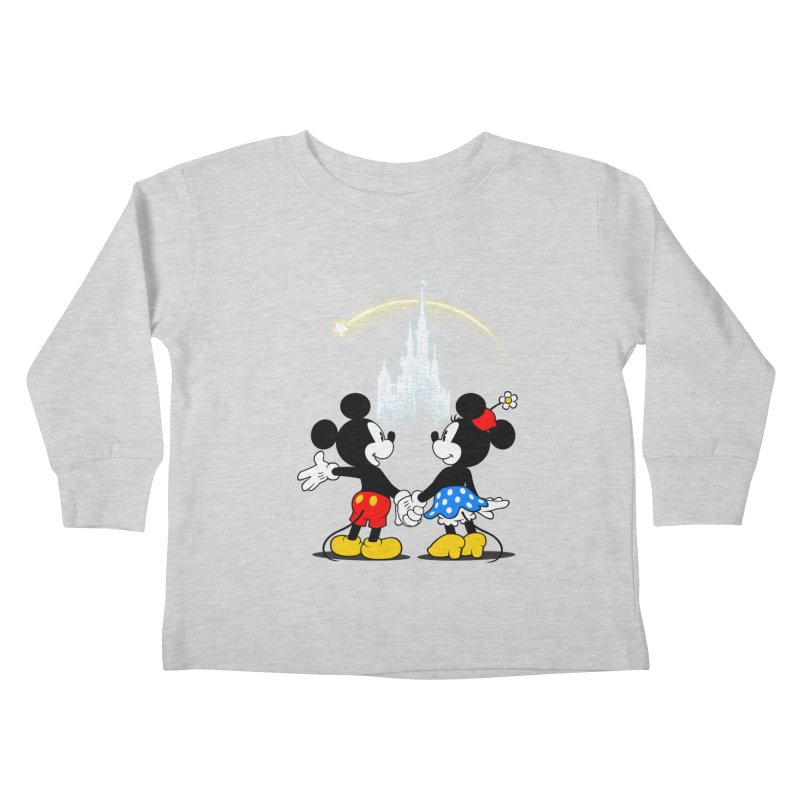 Making Wishes Come True Kids Toddler Longsleeve T-Shirt by Randy van der Vlag's Shop