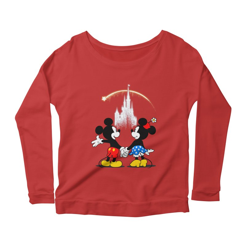Making Wishes Come True Women's Longsleeve Scoopneck  by Randy van der Vlag's Shop