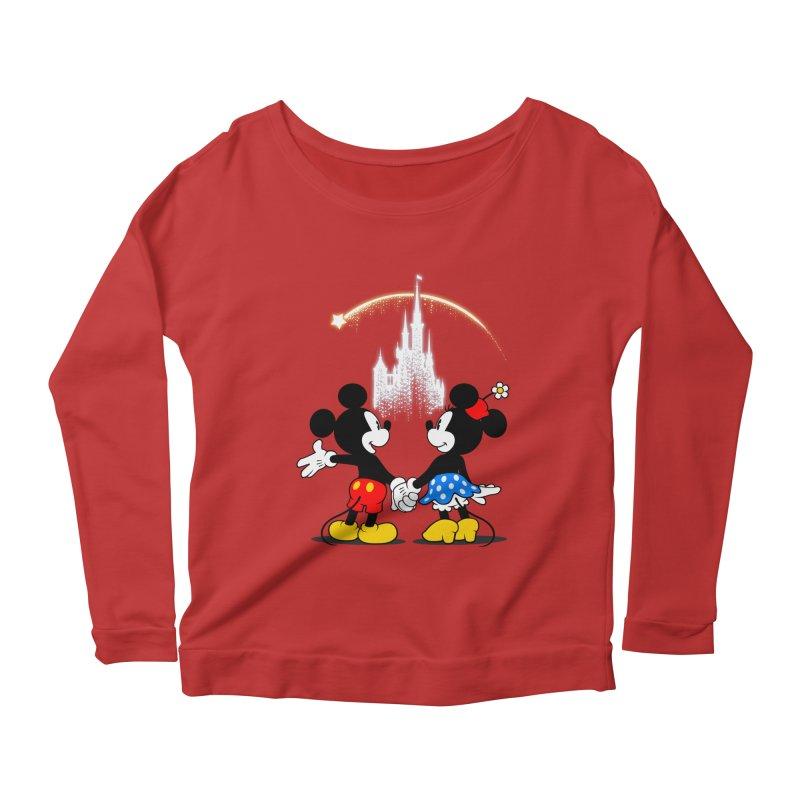 Making Wishes Come True Women's Scoop Neck Longsleeve T-Shirt by Randy van der Vlag's Shop