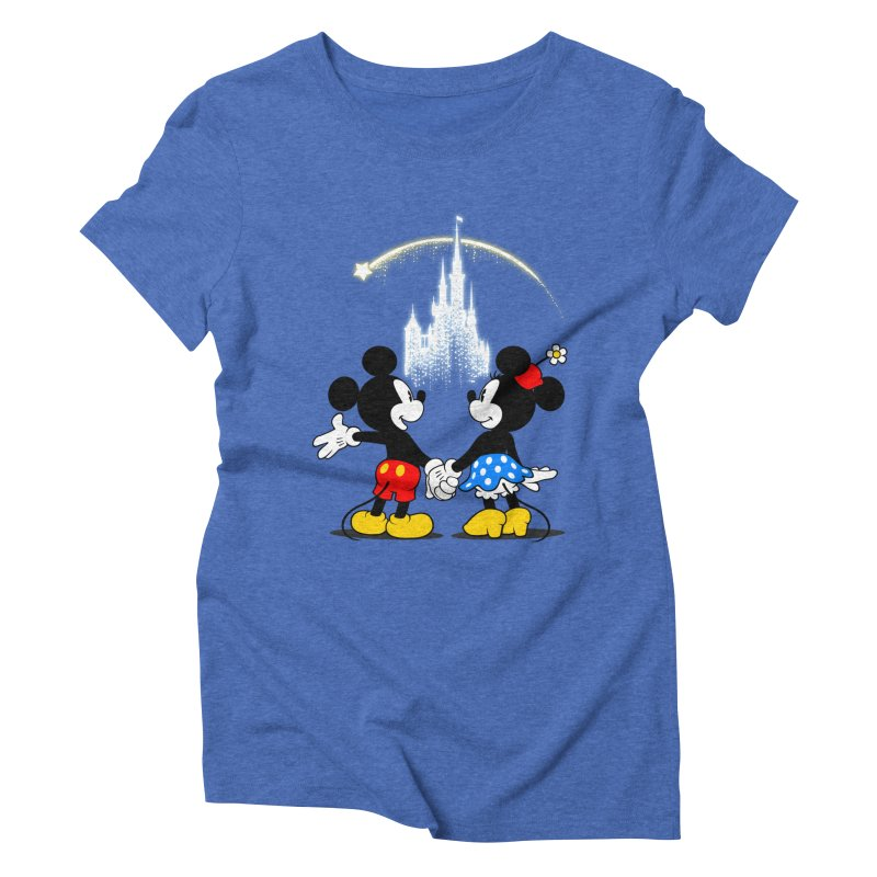 Making Wishes Come True Women's Triblend T-Shirt by Randy van der Vlag's Shop