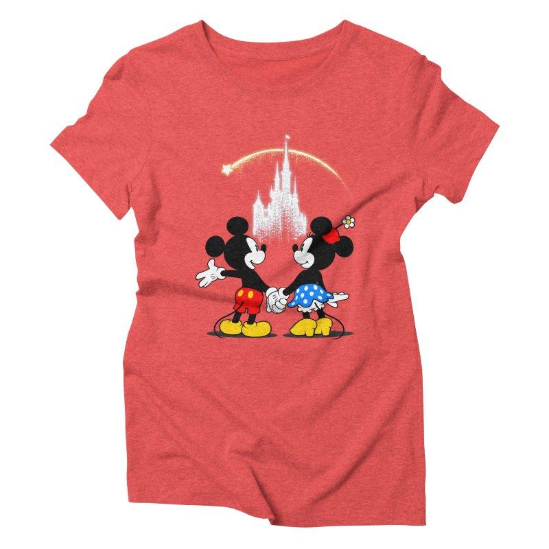 Making Wishes Come True Women's Triblend T-Shirt by Randy van der Vlag's Shop