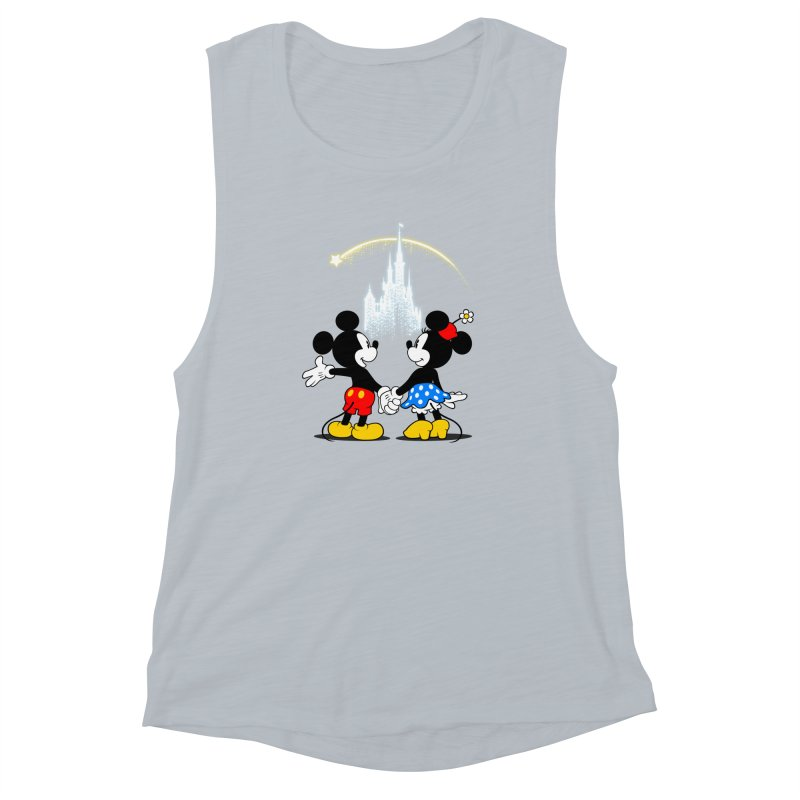 Making Wishes Come True Women's Muscle Tank by Randy van der Vlag's Shop