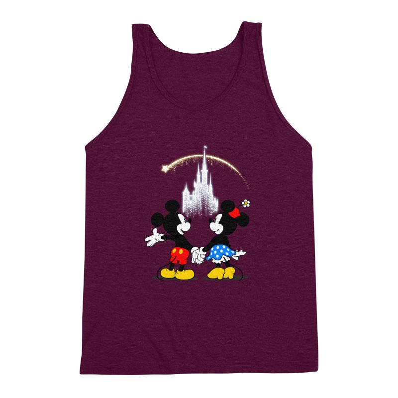 Making Wishes Come True Men's Triblend Tank by Randy van der Vlag's Shop