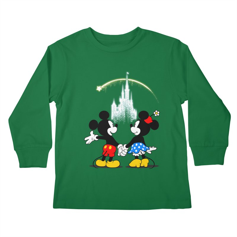Making Wishes Come True Kids Longsleeve T-Shirt by Randy van der Vlag's Shop
