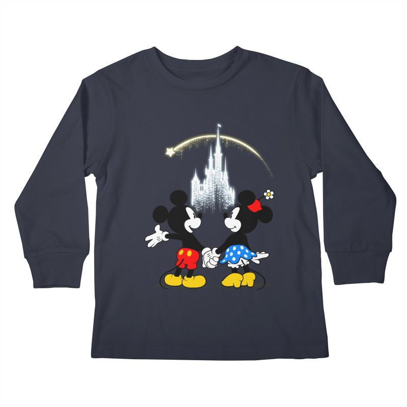 Making Wishes Come True Kids Longsleeve T-Shirt by Randy van der Vlag's Shop