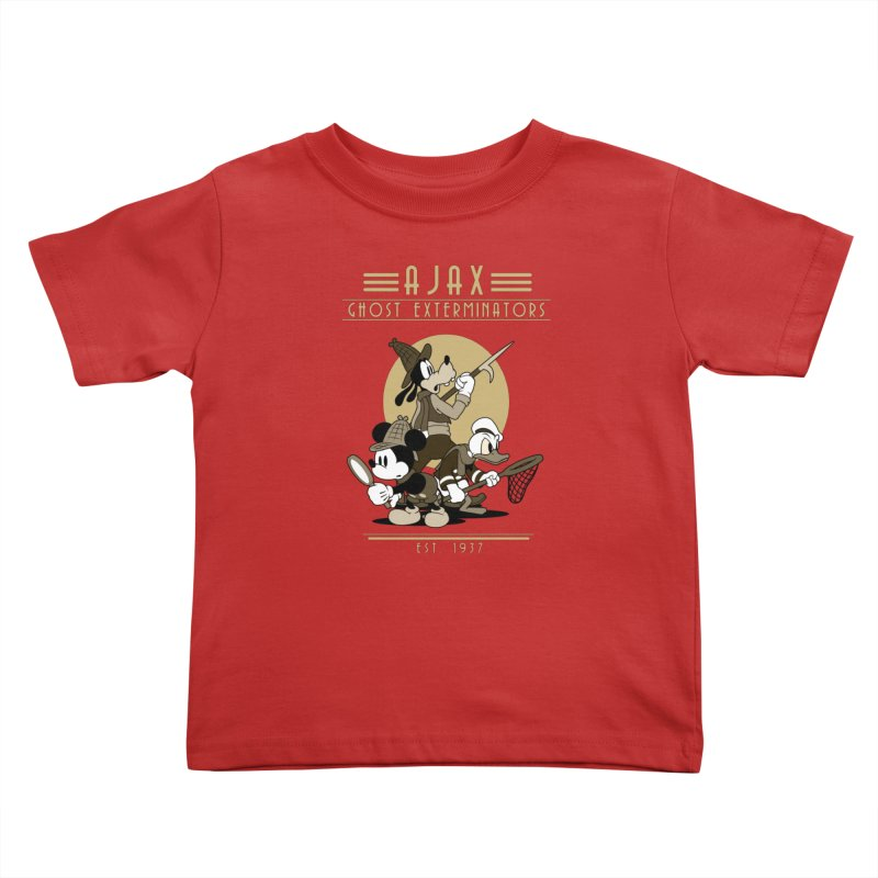 Ghost Exterminators Kids Toddler T-Shirt by Randy van der Vlag's Shop