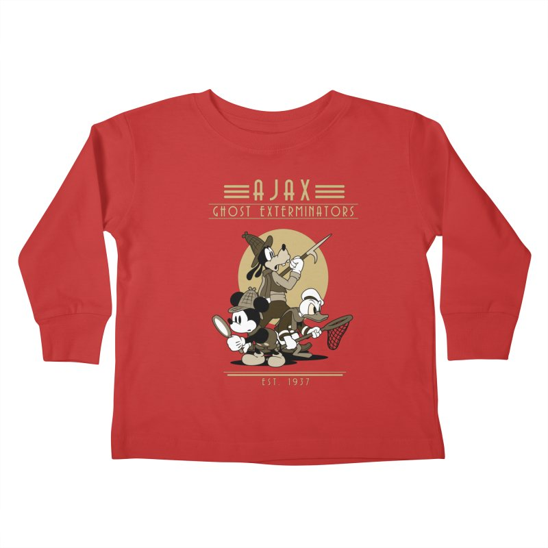 Ghost Exterminators Kids Toddler Longsleeve T-Shirt by Randy van der Vlag's Shop
