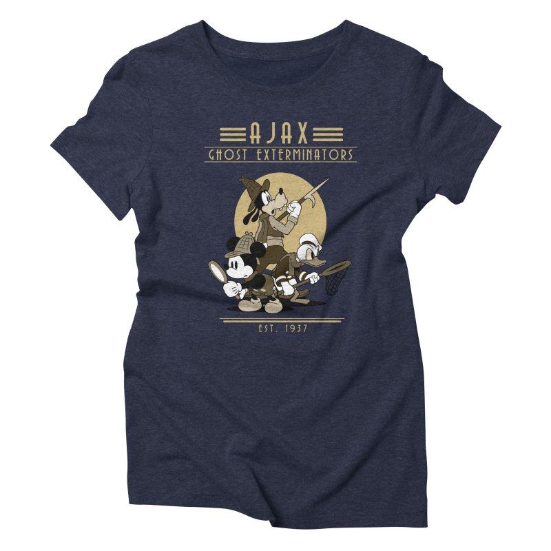 Ghost Exterminators Women's Triblend T-Shirt by Randy van der Vlag's Shop