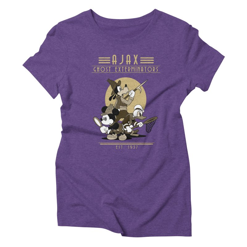 Ghost Exterminators Women's Triblend T-Shirt by Randy van der Vlag's Shop