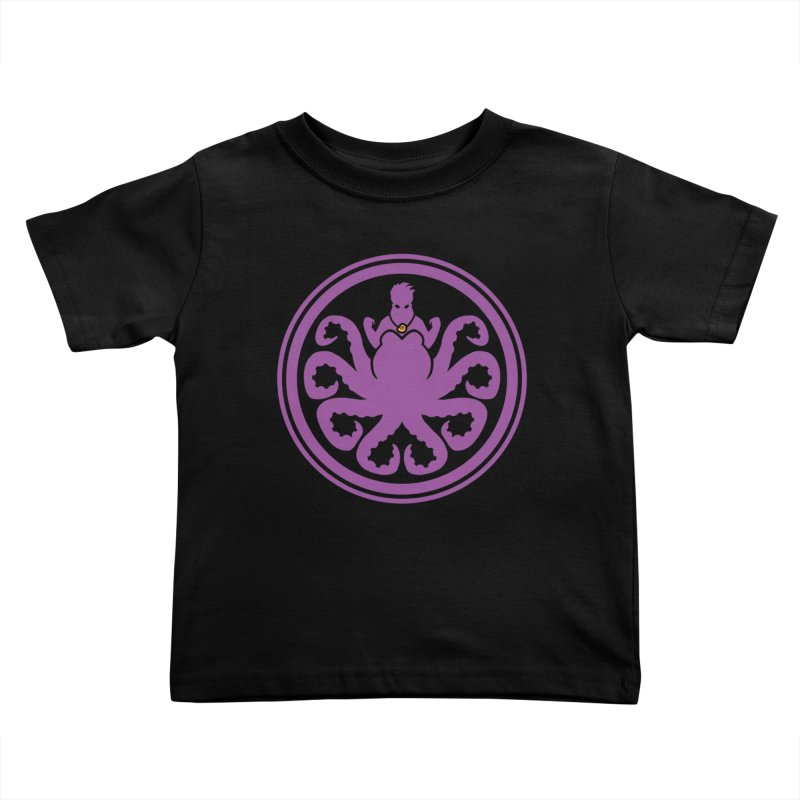 Hail Ursula Kids Toddler T-Shirt by Randy van der Vlag's Shop