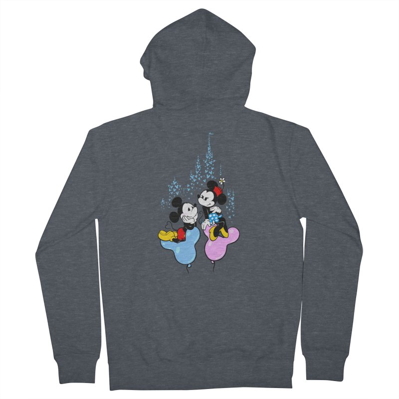 Mouse Balloons Women's Zip-Up Hoody by Randy van der Vlag's Shop