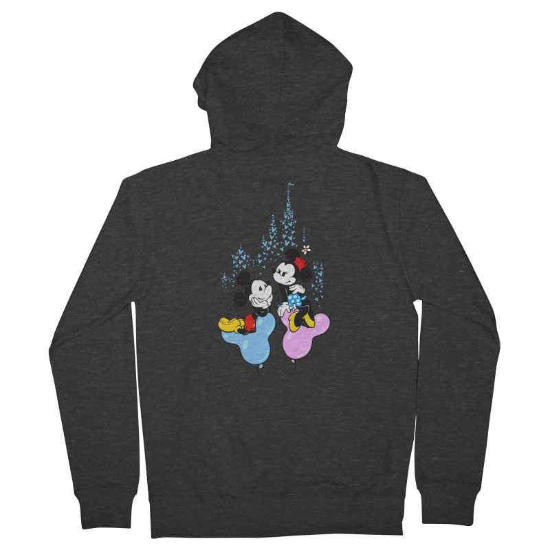 Mouse Balloons Men's Zip-Up Hoody by Randy van der Vlag's Shop