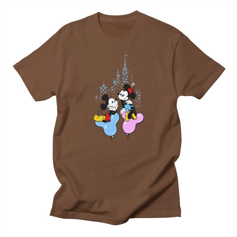 Mouse Balloons Men's T-shirt by Randy van der Vlag's Shop