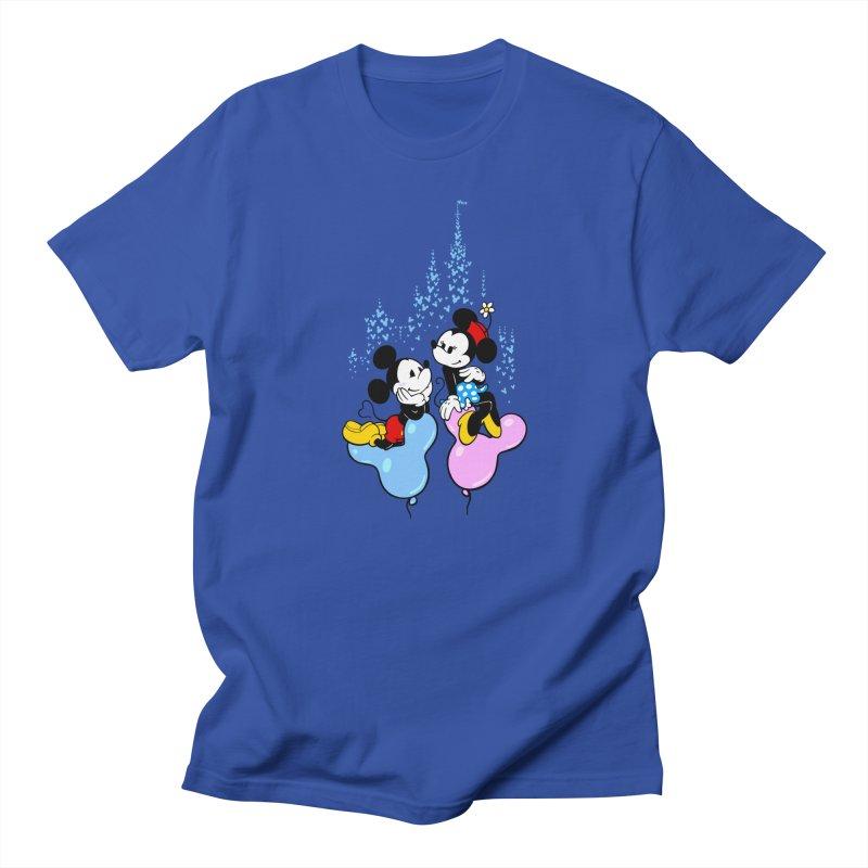Mouse Balloons Men's Regular T-Shirt by Randy van der Vlag's Shop