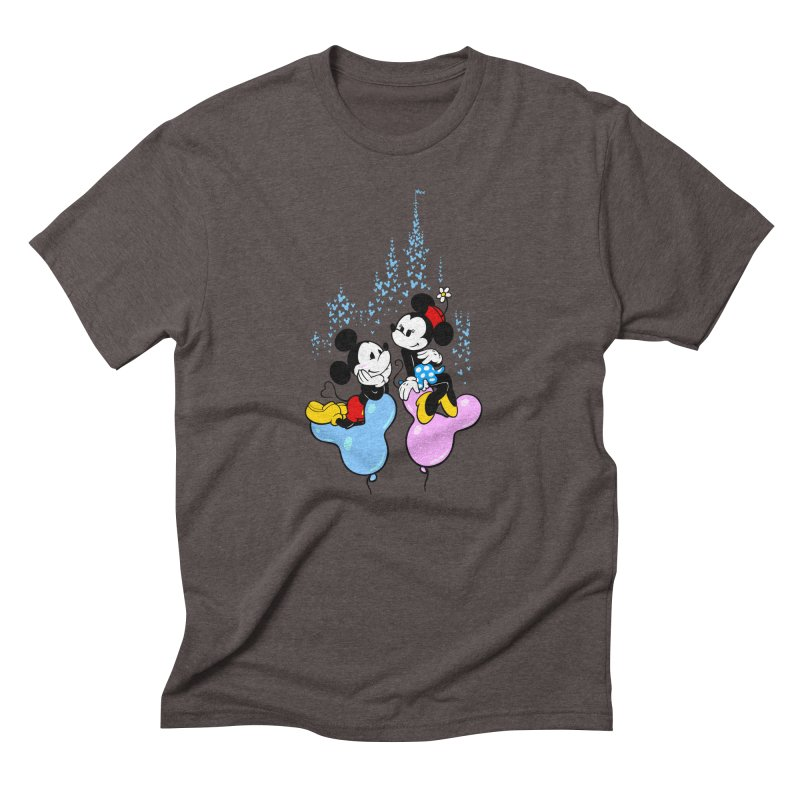 Mouse Balloons Men's Triblend T-Shirt by Randy van der Vlag's Shop