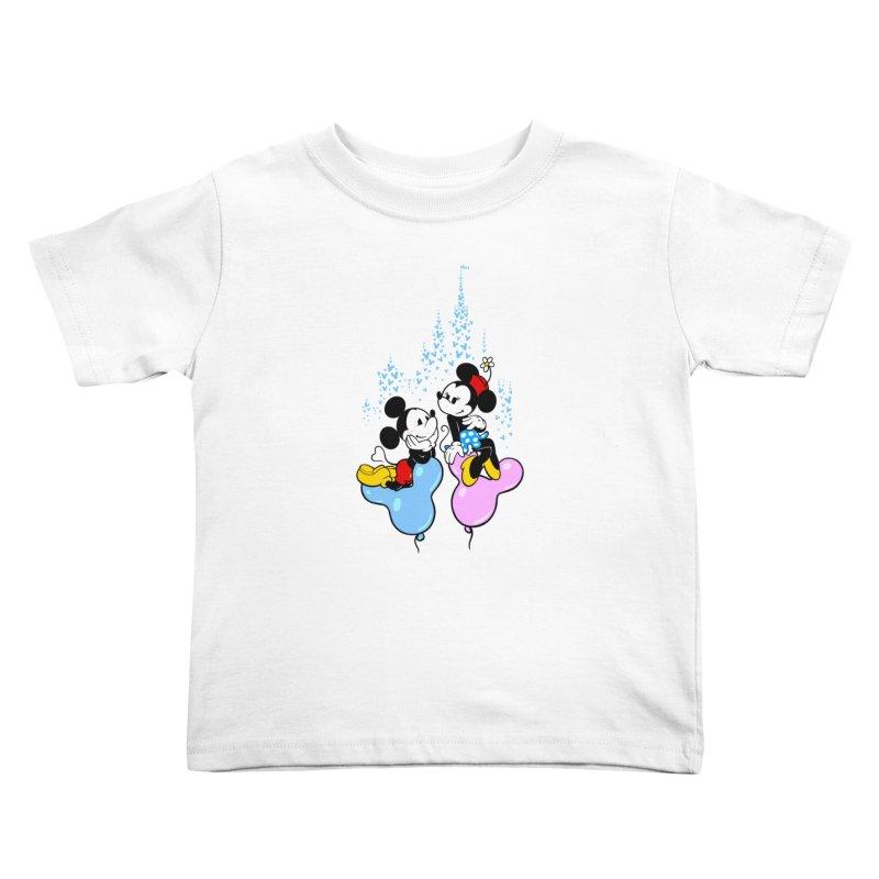 Mouse Balloons Kids Toddler T-Shirt by Randy van der Vlag's Shop