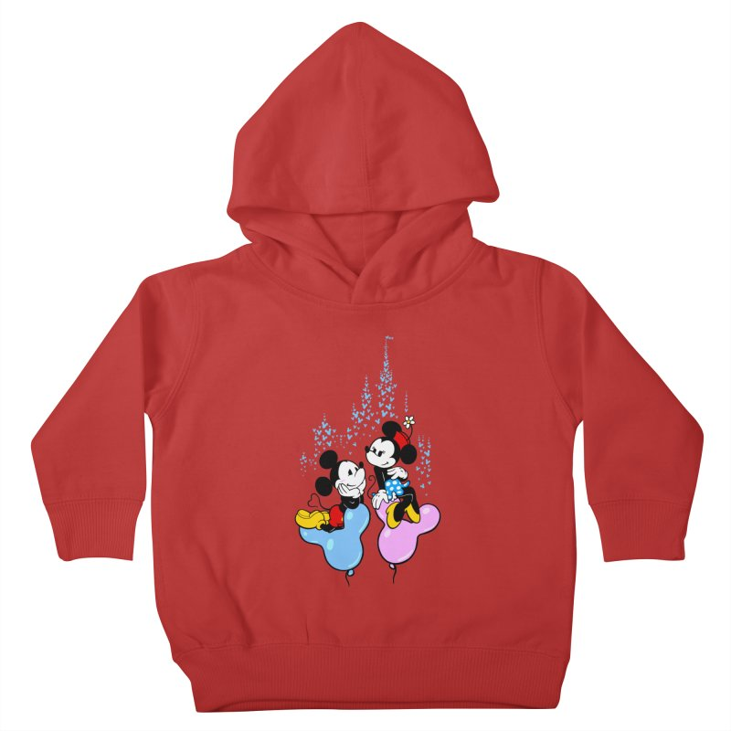 Mouse Balloons Kids Toddler Pullover Hoody by Randy van der Vlag's Shop