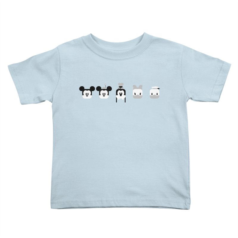 Fantastic Friends Kids Toddler T-Shirt by Randy van der Vlag's Shop
