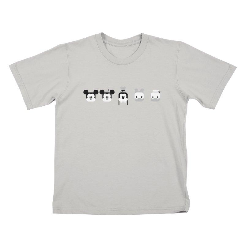 Fantastic Friends Kids T-shirt by Randy van der Vlag's Shop