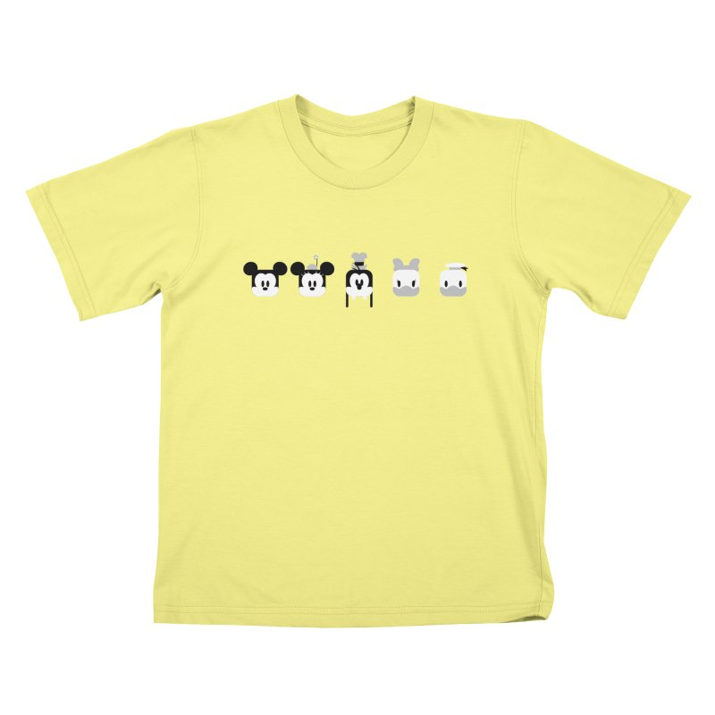 Fantastic Friends Kids T-shirt by Randy van der Vlag's Shop