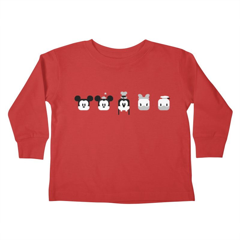 Fantastic Friends Kids Toddler Longsleeve T-Shirt by Randy van der Vlag's Shop