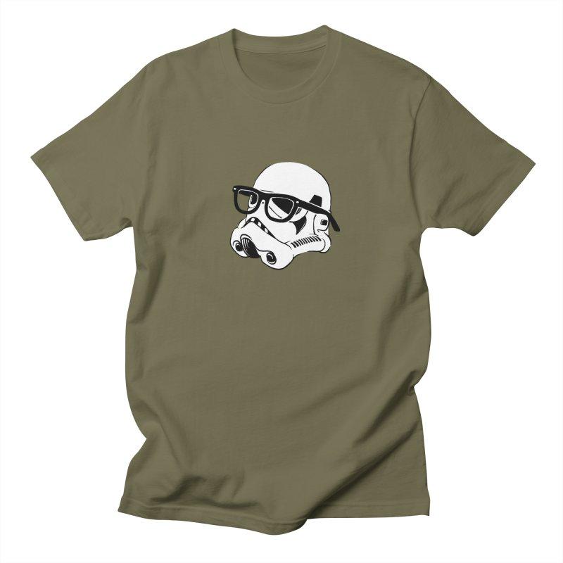 Nerd Trooper Men's T-Shirt by Randy van der Vlag's Shop